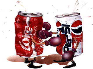 Trol-marketing. Coke Vs Pepsi